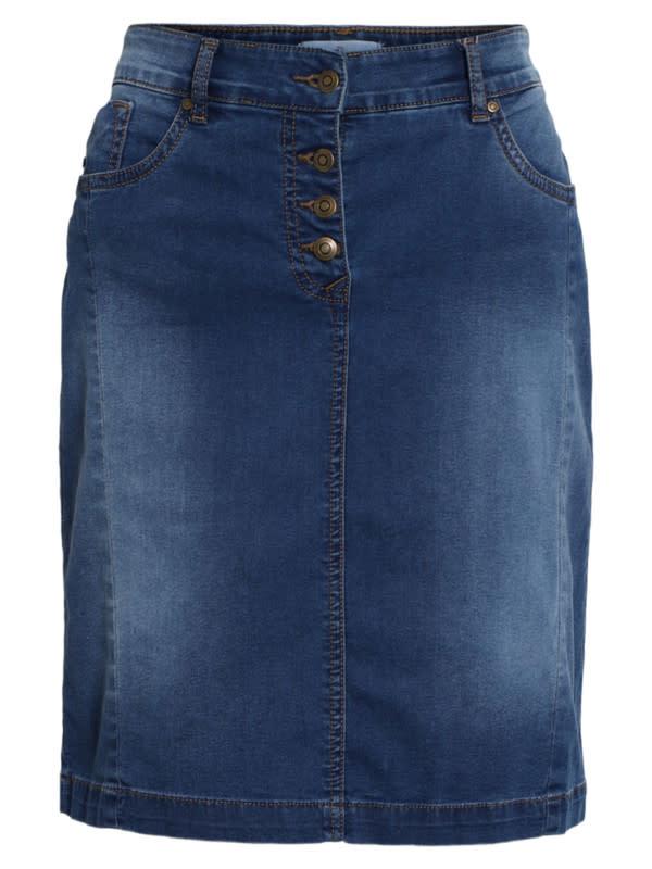 Brandtex Dames Jeans Rok 209479 14197-1