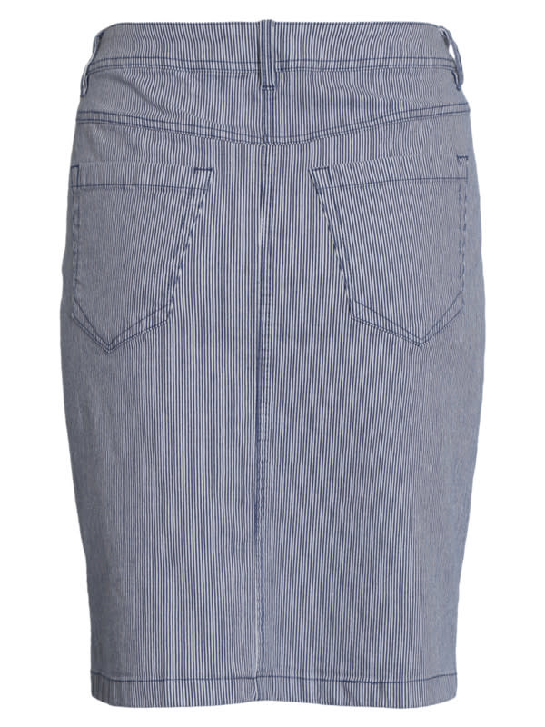 Brandtex Dames Rok Jeans 208595 13851-2