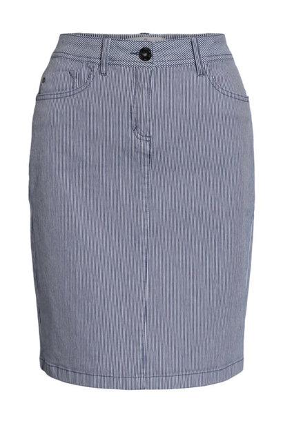 Brandtex Dames Rok Jeans 208595 13851