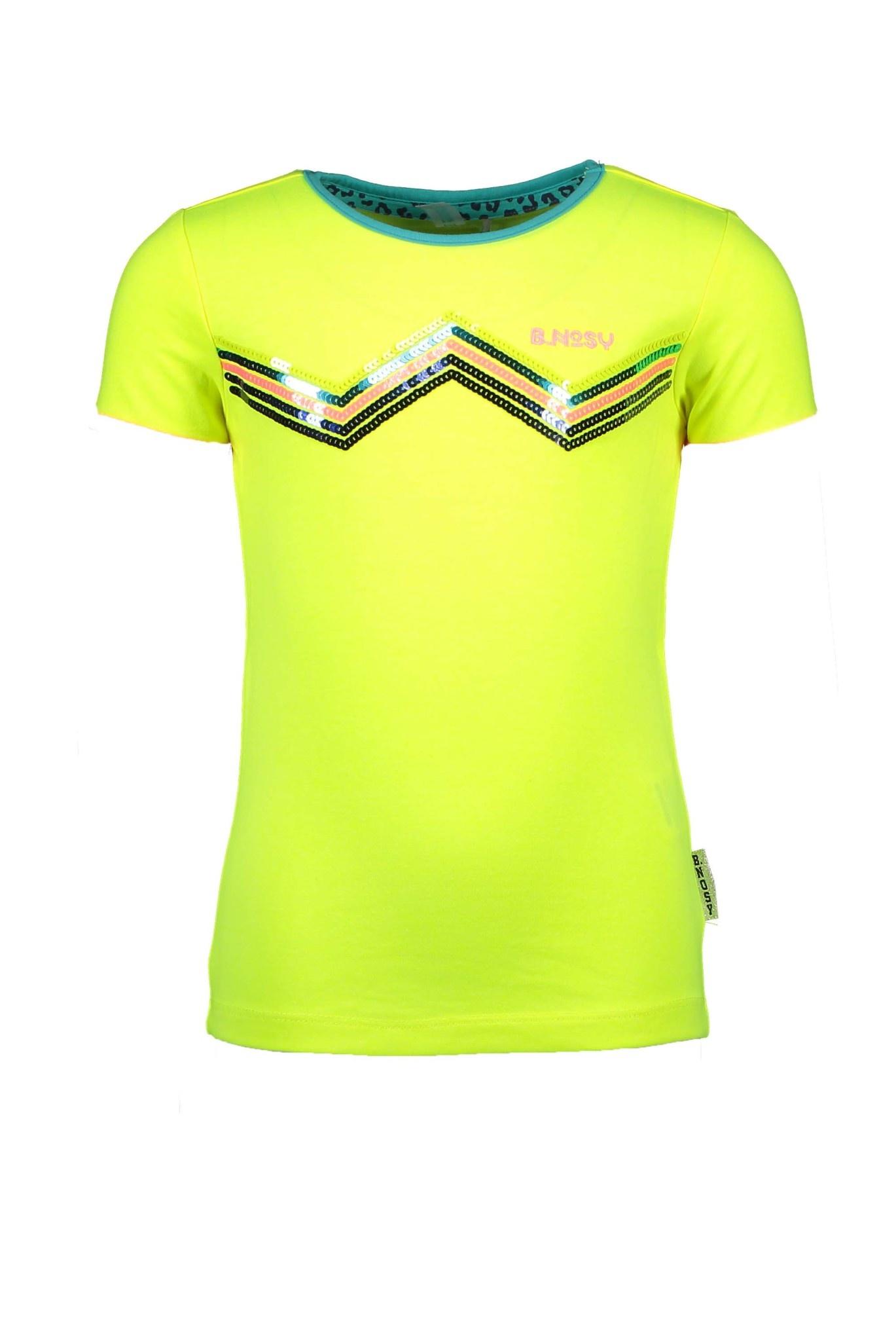 B.Nosy Meisjes Shirt Zig-zag Y002-5461-1