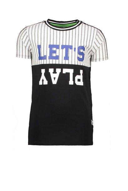 B.Nosy Jongens Shirt Met Bies Y002-6433