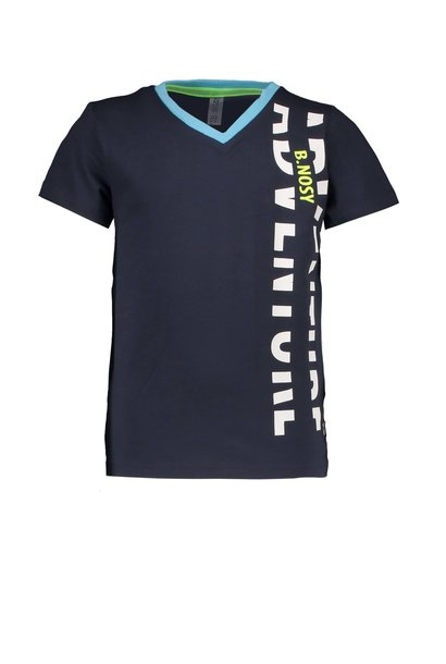 B.Nosy Jongens Shirt V-hals Met Jungleprint  Y003-6420