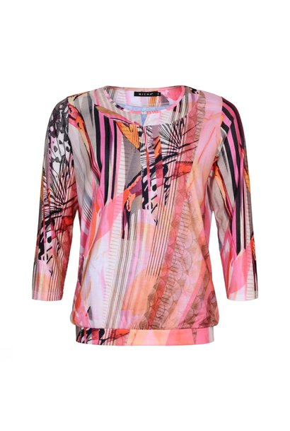 Micha Dames Shirt 161-175 Roze