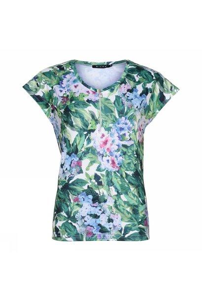Micha Dames Shirt 162-123 Hortensia