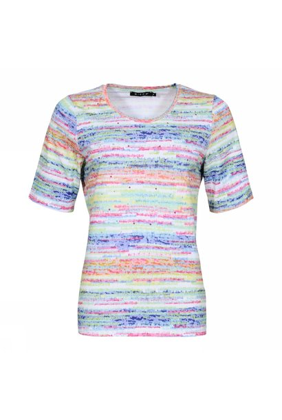 Micha Dames Shirt 162-163 Multi Color