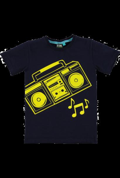 B-Chill Jongens Shirt Jesse Black