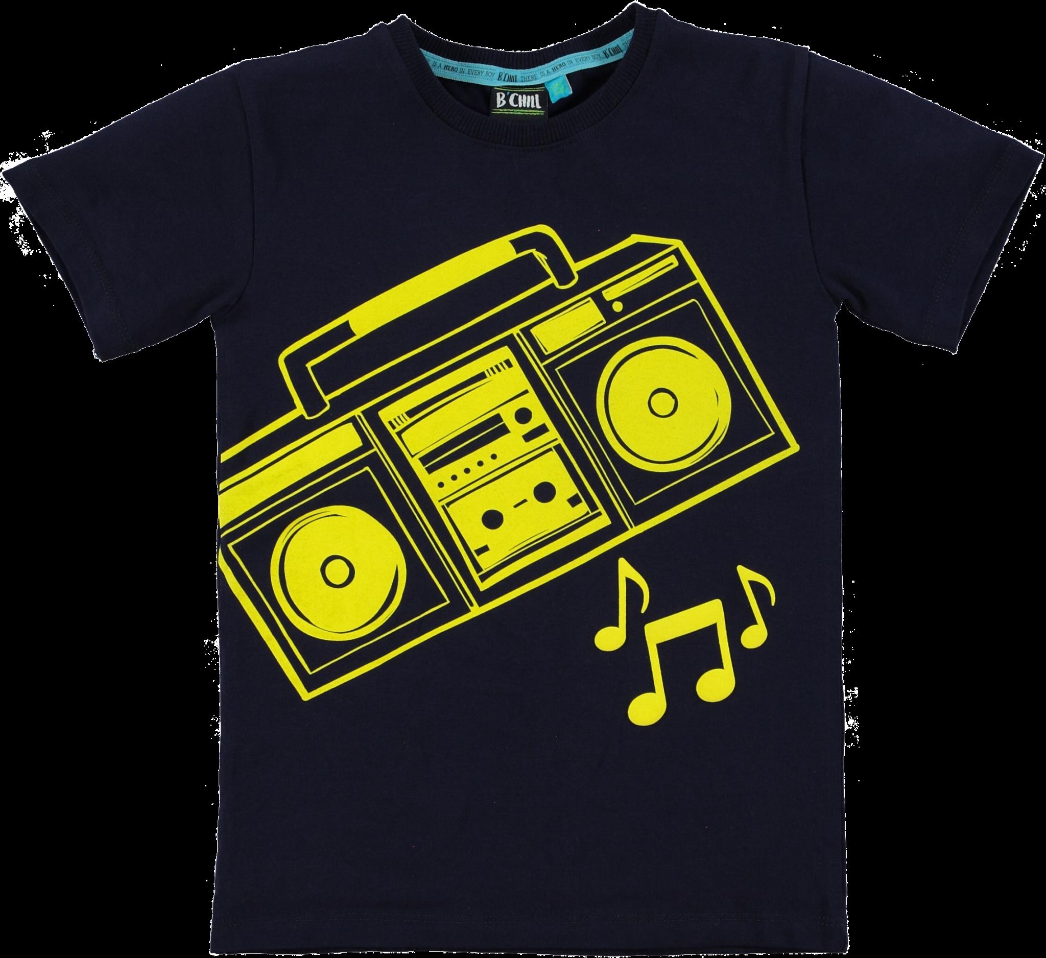 B-Chill Jongens Shirt Jesse Black-1