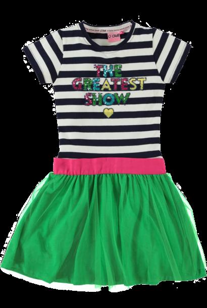 O-Chill Meisjes Jurkje Tirza Multicolor