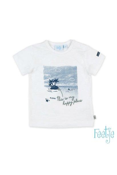 Feetje Jongens Shirtje Fotoprint Smile & Wave 51700577