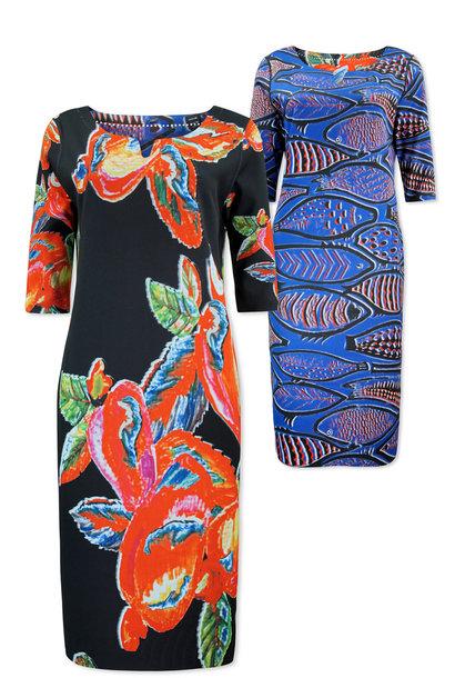 Lizzy & Coco Dames Reversibel jurkje Craft