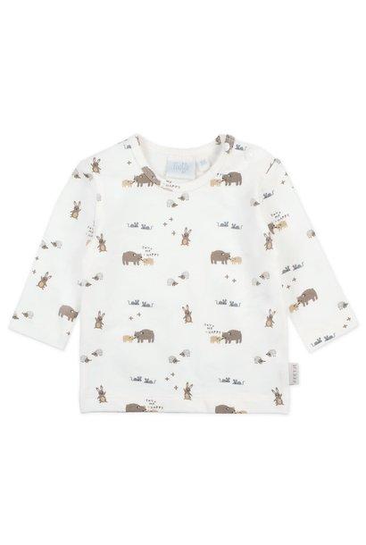 Feetje Baby Shirt AOP Happy 516.01581