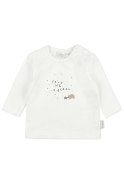 Feetje Baby Shirt You+Me=Happy 516.01582