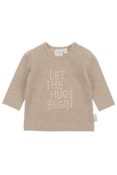 Feetje Baby Shirt Hugs Happy 516.01583