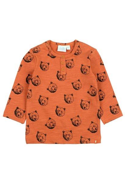Feetje Jongens Shirt AOP Bear Hugs 516.01619