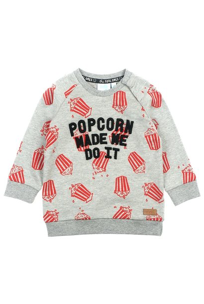 Feetje Jongens Sweater Popcorn Party 516.01608