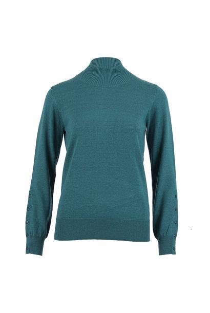 Enjoy Dames Pullover Fijnbrei Turtle hals 502138