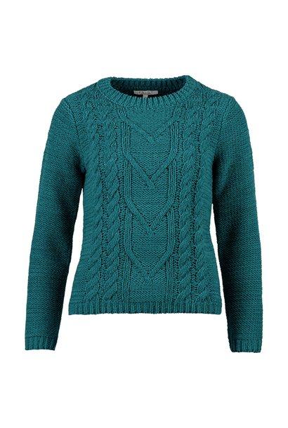 Enjoy Dames Pullover Kabel 502145
