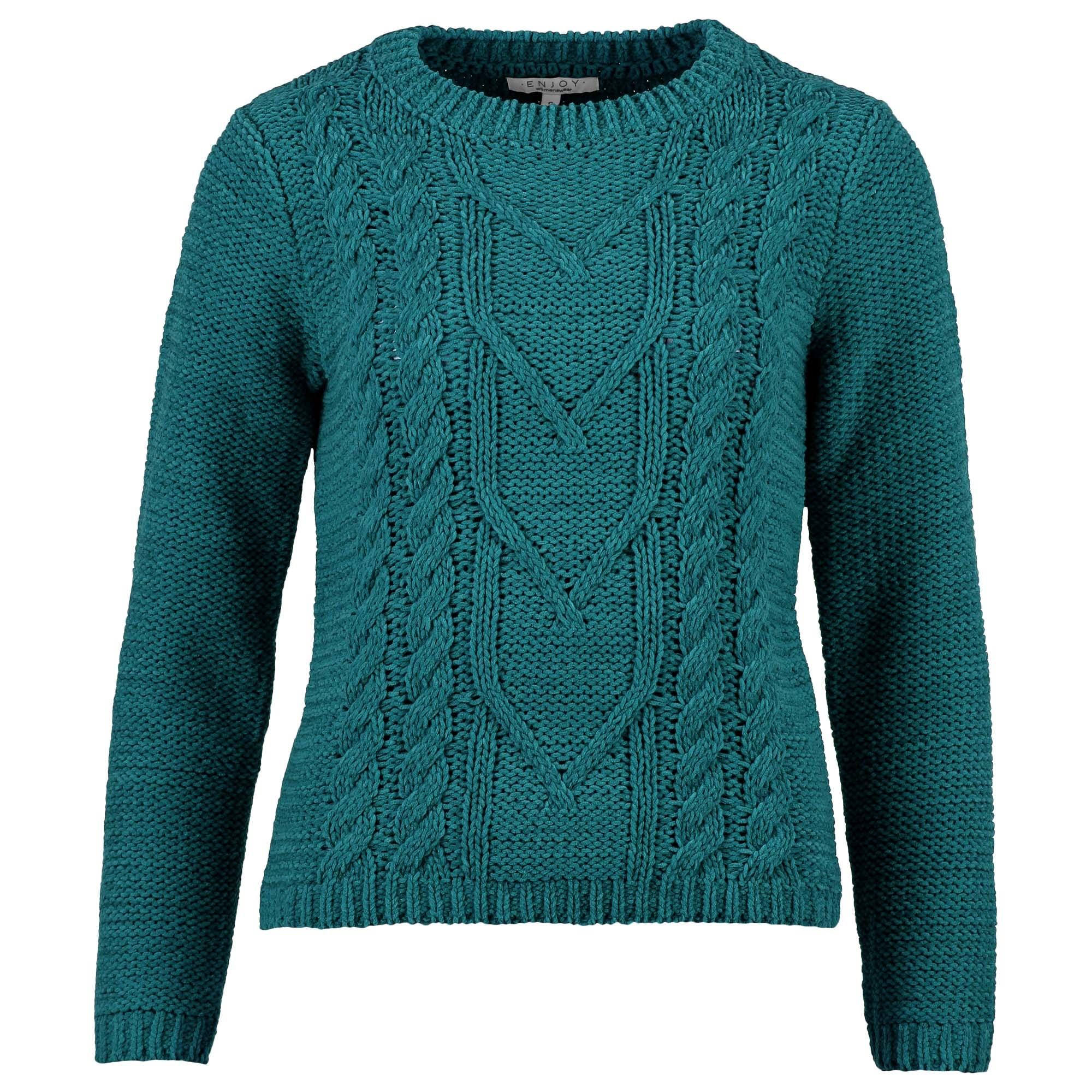Enjoy Dames Pullover Kabel 502145-1