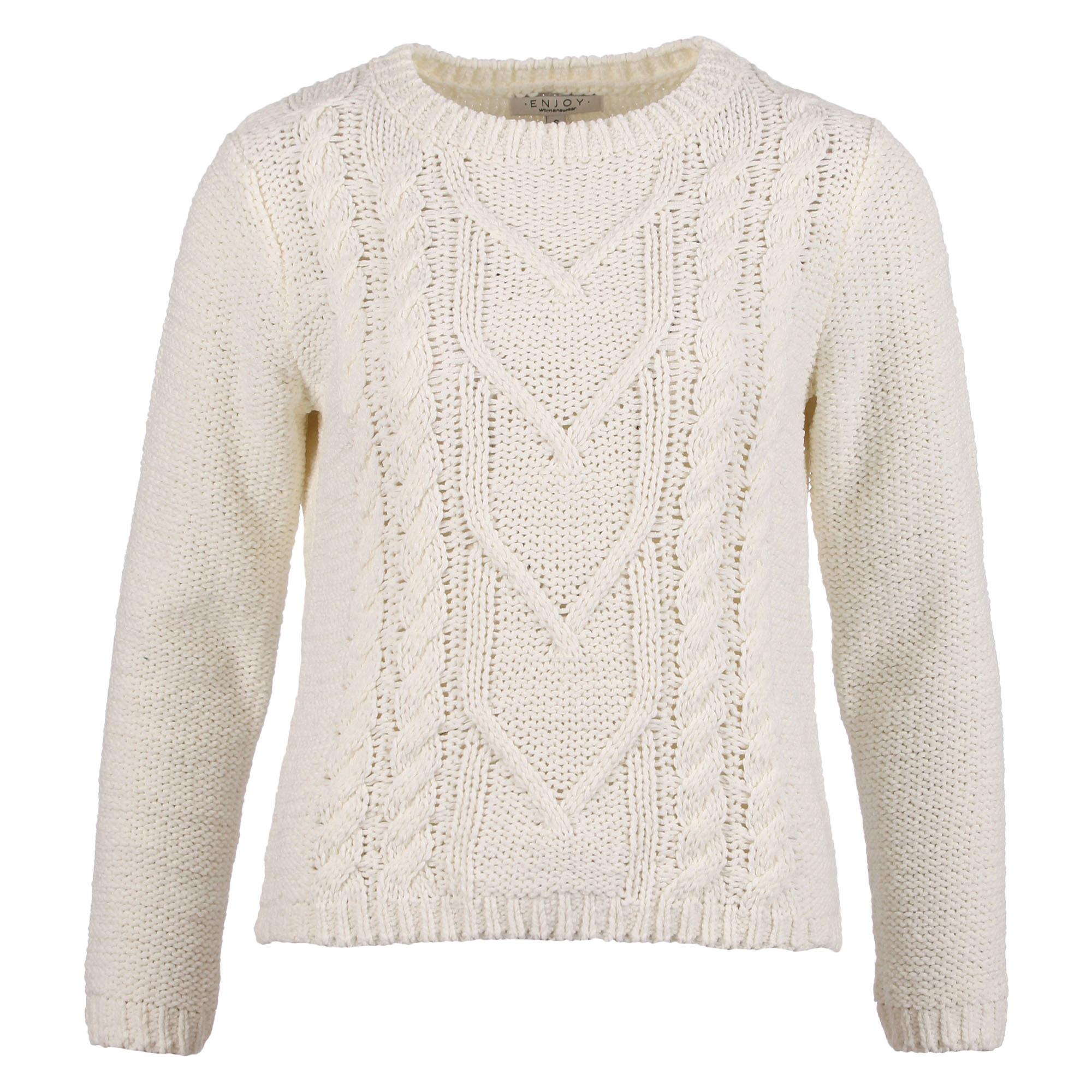 Enjoy Dames Pullover Kabel 502145-2
