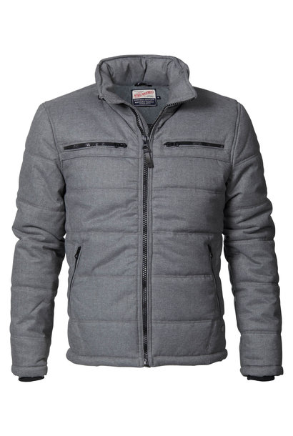 Petrol Heren Jacket Padded Wollook M-3000-JAC120