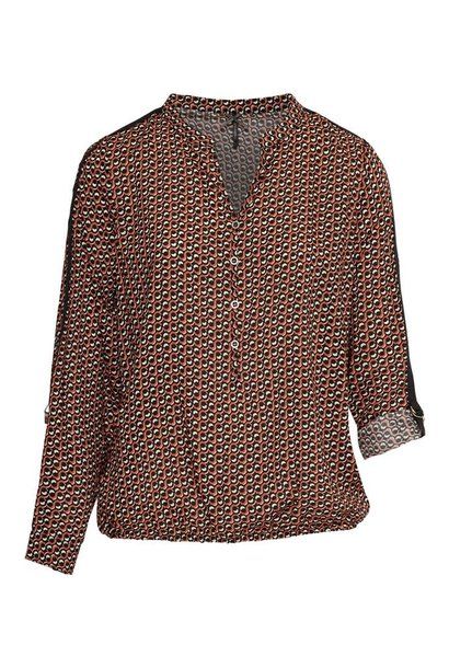 Dreamstar Dames blouse CRAVAT W20 105 Nadra