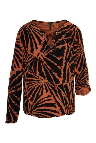Dreamstar Dames blouse ANIMAL W20 112 Martien