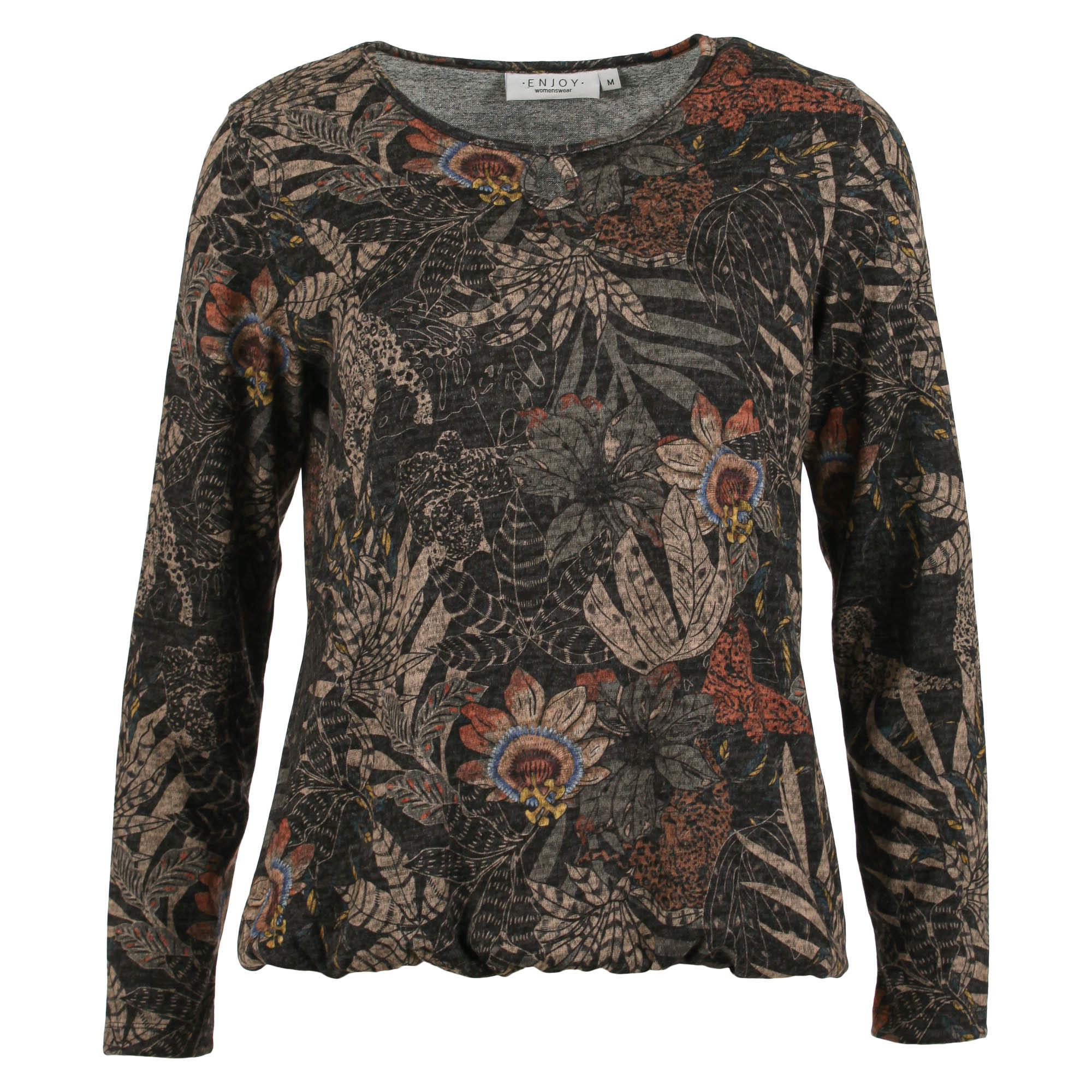 Enjoy Dames Sweater Allover print 183570-1
