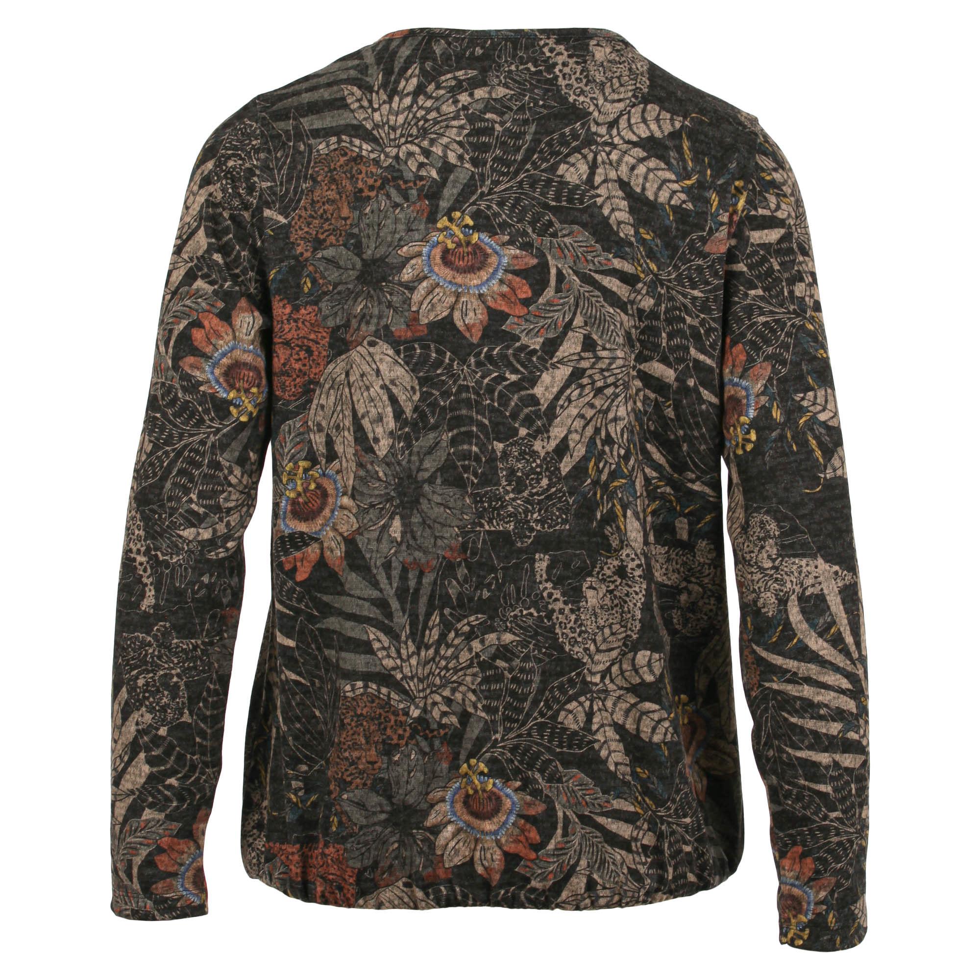 Enjoy Dames Sweater Allover print 183570-2