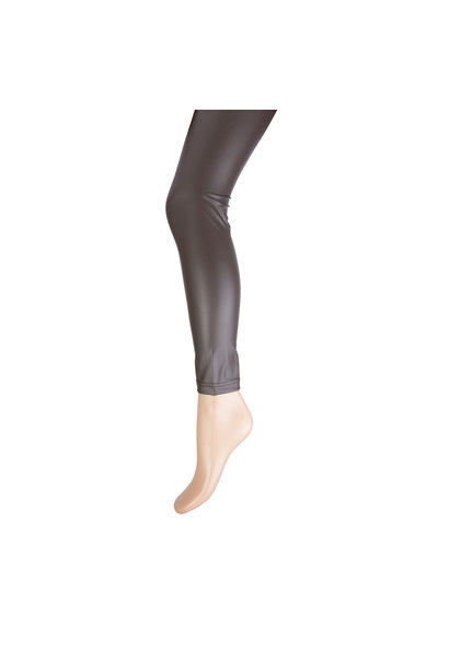 Marianne Dames Legging Leatherlook 20083