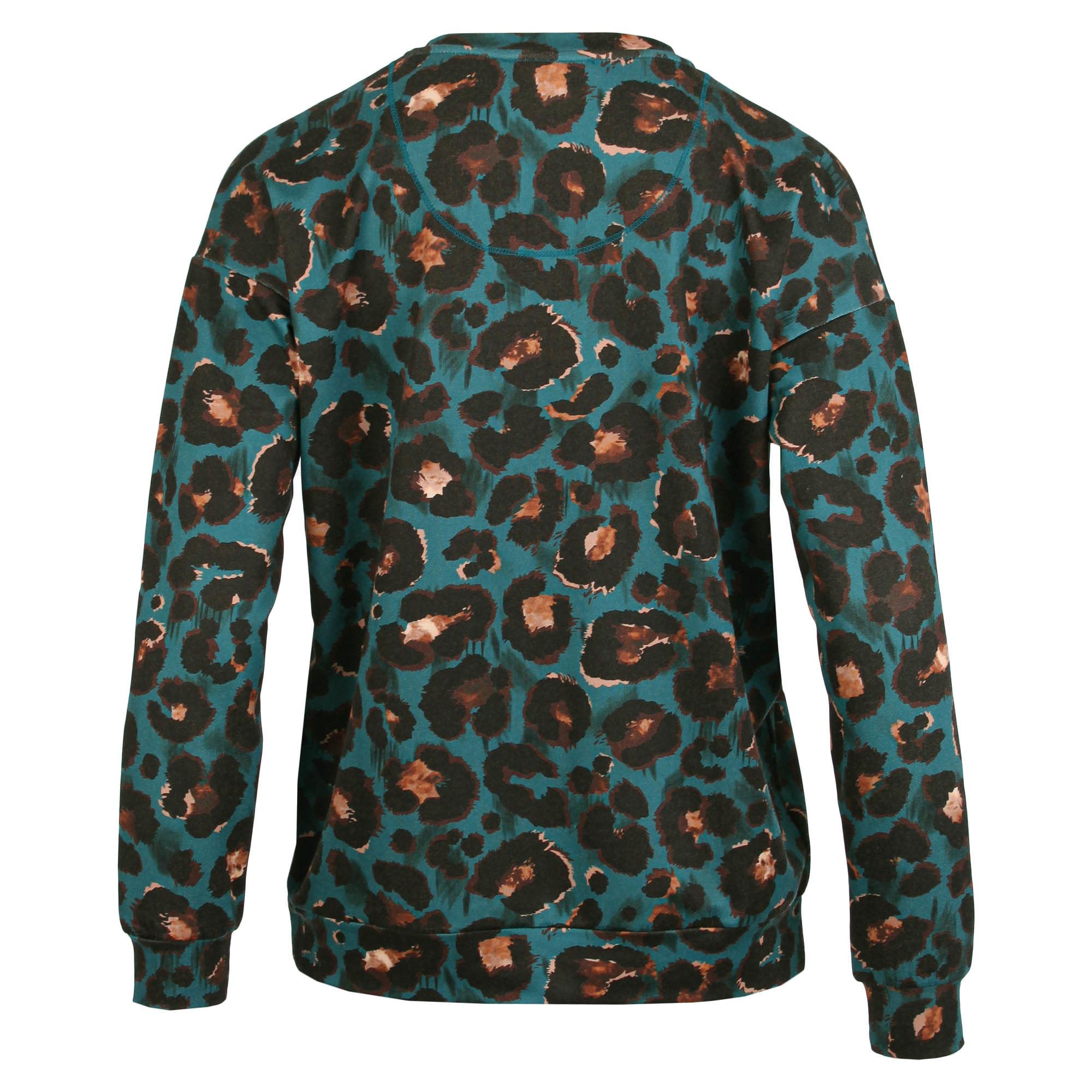 Enjoy Dames Sweater V-hals Dieren print 183552-2