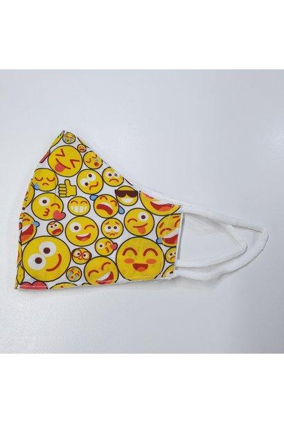 Kinder Mondkapje Smiley