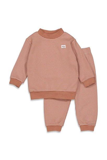 Feetje Meisjes Pyjama wafel 305.533