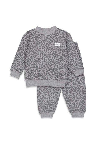 Feetje Jongens Pyjama wafel 305.535