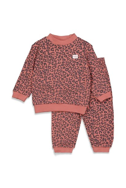 Feetje Meisjes Pyjama wafel 305.535