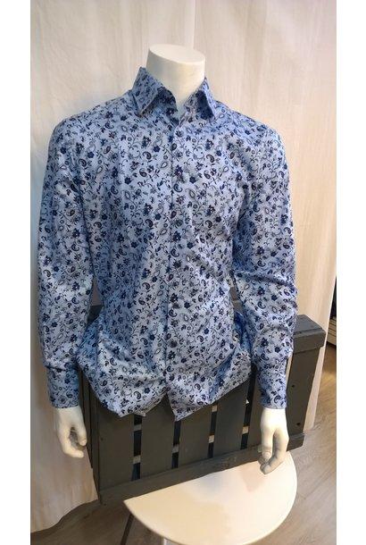 MarVelis Heren Overhemd Met Lange Mouw 7218