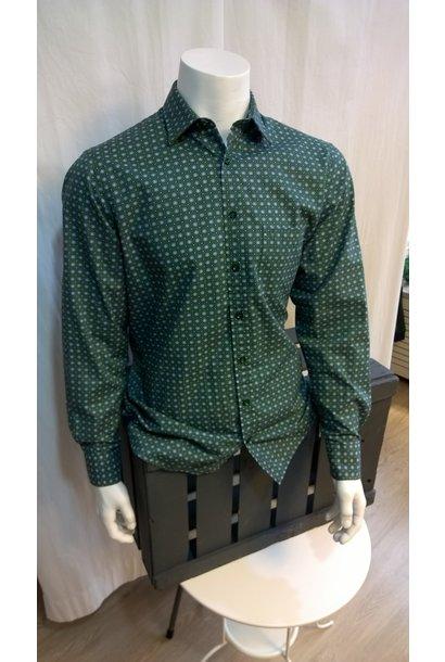 MarVelis Heren Overhemd Met Lange Mouw 6026