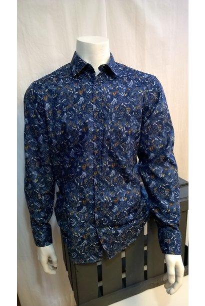 MarVelis Heren Overhemd Met Lange Mouw 6038