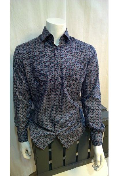MarVelis Heren Overhemd Met Lange Mouw 7340