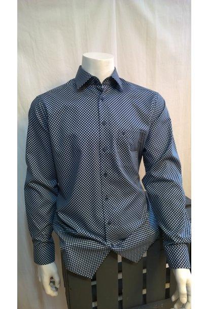 MarVelis Heren Overhemd Met Lange Mouw 7220
