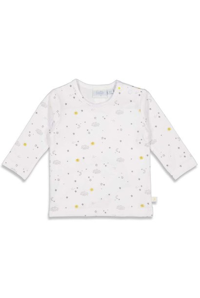 Feetje Baby Shirtje LM AOP Sunny Mood 51601651