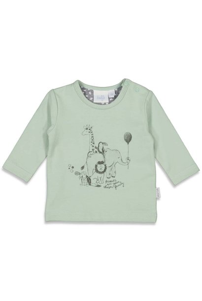 Feetje Jongens Shirtje LM Animal Friends 51601673