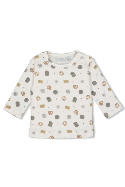 Feetje Baby Shirtje LM AOP Mini Cookie 51601668