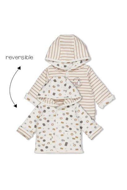 Feetje Baby Omkeerbaar Jasje Capuchon Mini Cookie 51800250