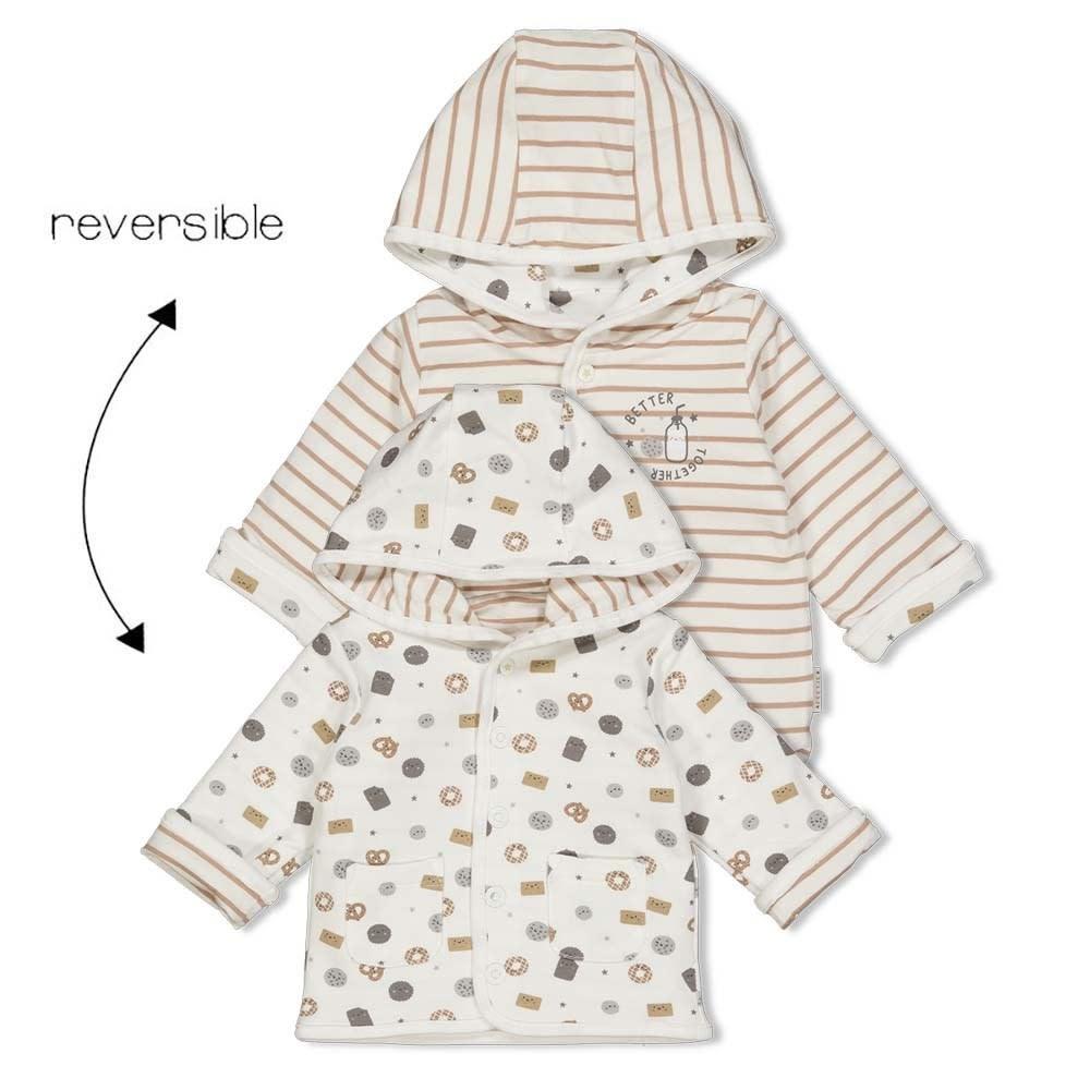 Feetje Baby Omkeerbaar Jasje Capuchon Mini Cookie 51800250-1
