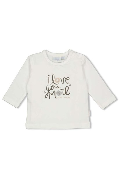 Feetje Baby Shirtje LM Love You Mini Cookie 51601669