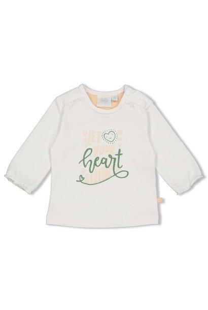 Feetje Meisjes Shirtje LM Shine Hearts 51601702