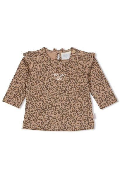 Feetje Meisjes Shirtje LM AOP Panther Cutie 51601705