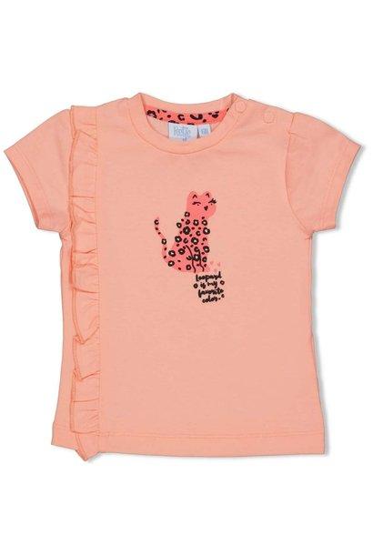 Feetje Meisjes Shirtje KM Leopard Love 51700623