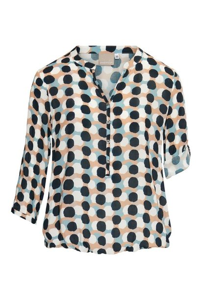 Dreamstar Dames blousetop DOTS Z21 113 Maxx