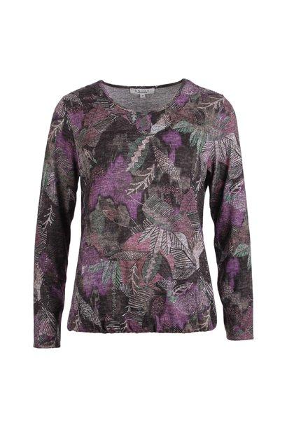Enjoy Dames Sweater RH Blaadjes 183937